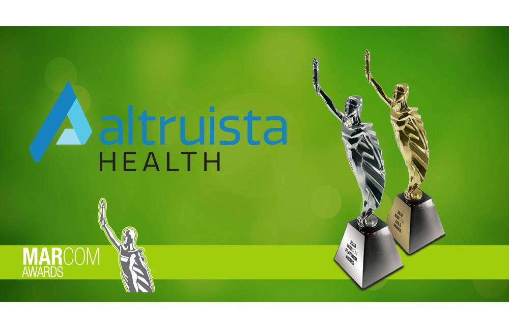 Altruista Health Receives Two Recognitions from 2018 MarCom Awards_News