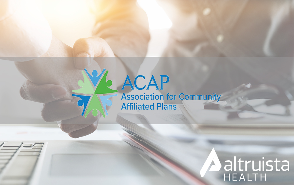 Altruista Health Partners with ACAP to Become its Exclusive Strategic Ally for Care Management Applications_Press Release