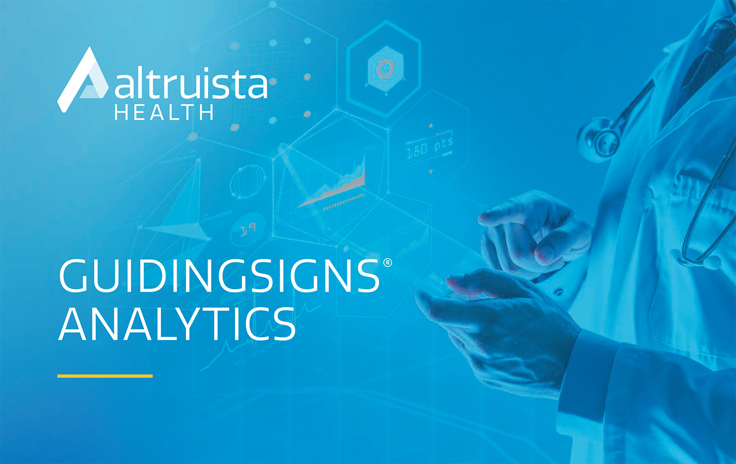GuidingSigns Analytics_Product Sheet_Altruista-Health