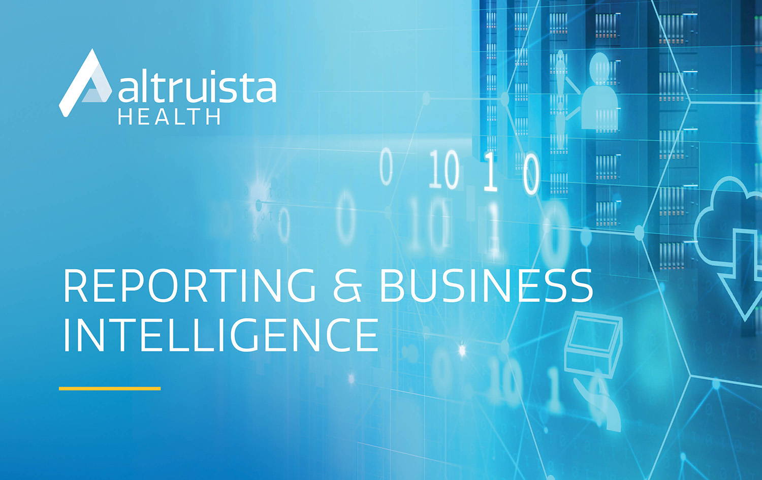 Reporting & Business Intelligence_Product Sheet_Altruista-Health